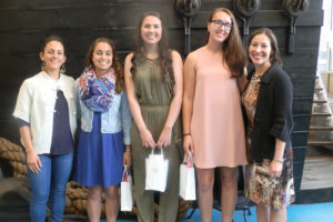 Azorean Maritime Heritage Society scholarship recipients and board members